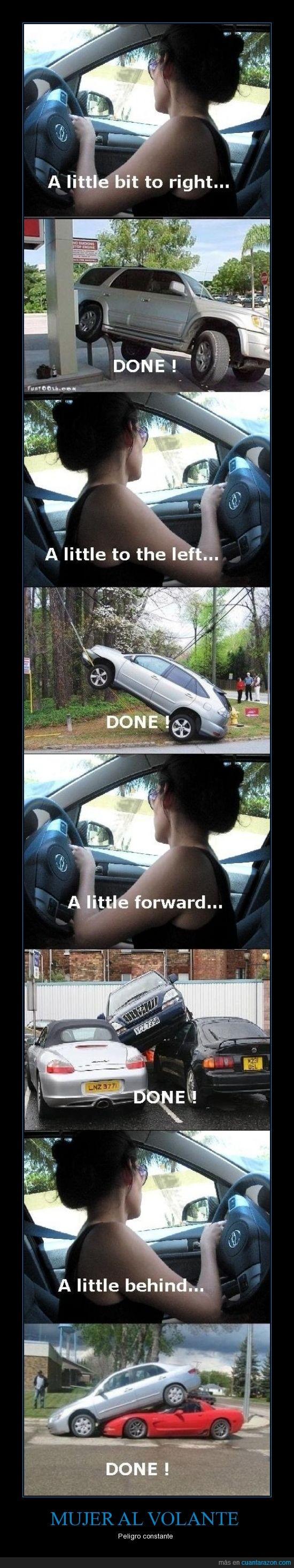 coche,conducir,fail,movimientos,mujer,volante