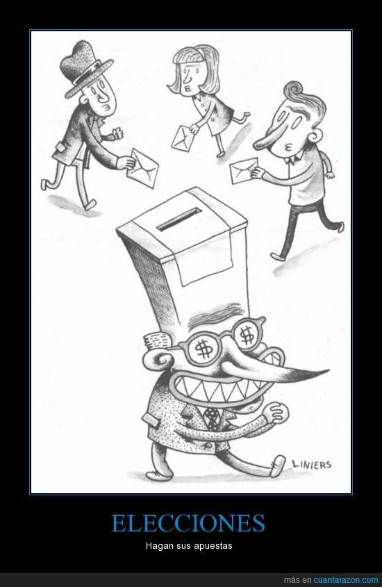 cabrones,forrarse,políticos,urna,votar