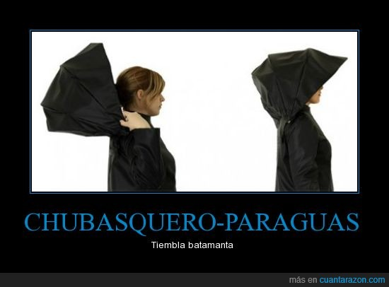 batamanta,chubasquero,paraguas