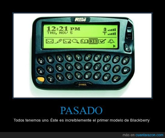 BB,BlackBerry,modelo,movil,pantalla,primer,teclado
