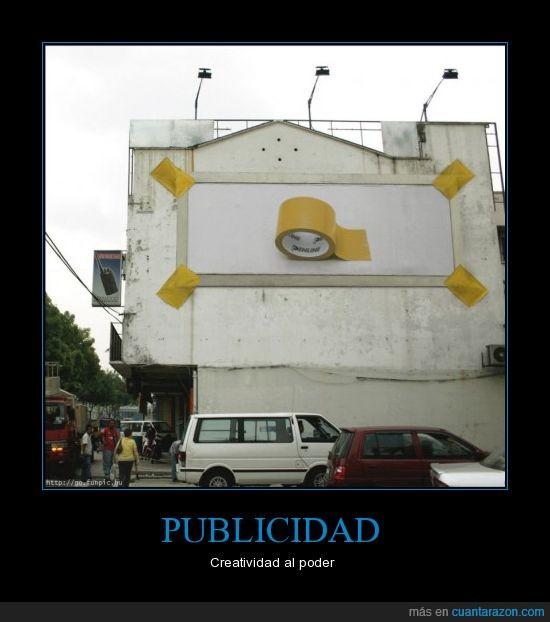adhesiva,below the line,cinta,publicidad