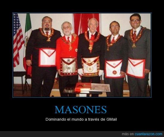 GMail,Google,logotipo,Masones,parecido
