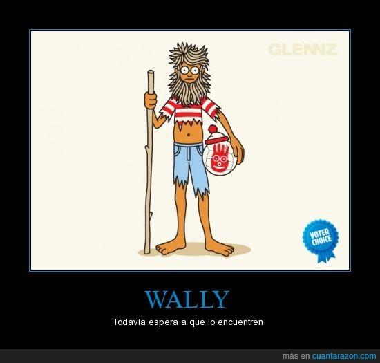busqueda,perdido,wally,wilson