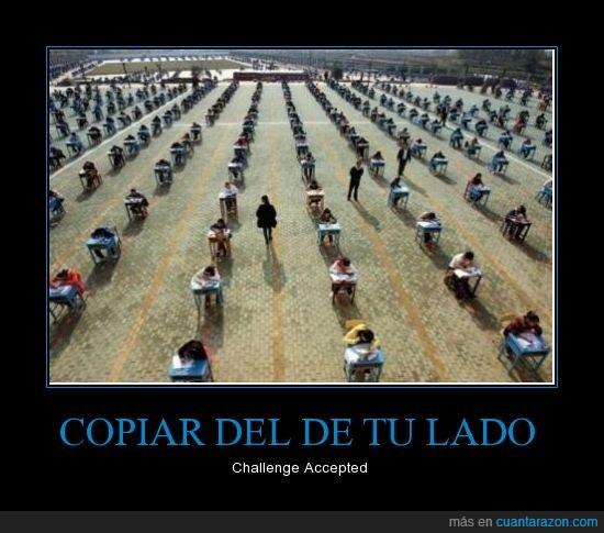 china,copiar,escuela,examen,final