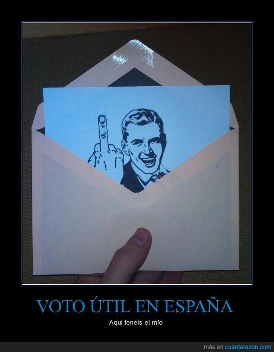 elecciones,política,Trolltime,votar,Voto útil en España