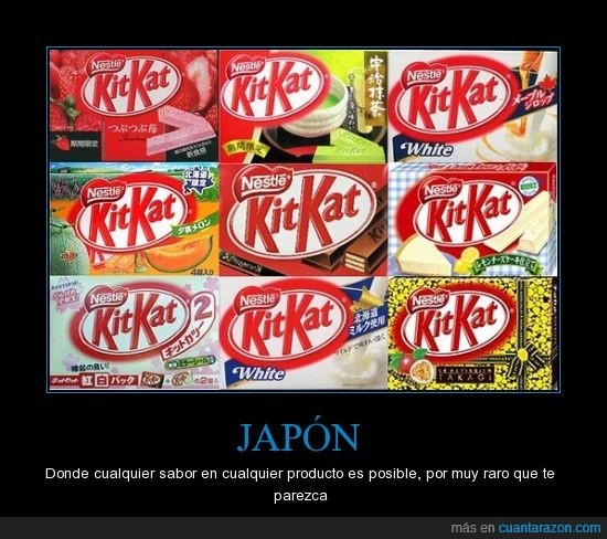 Japon,kit-kat,Sabores
