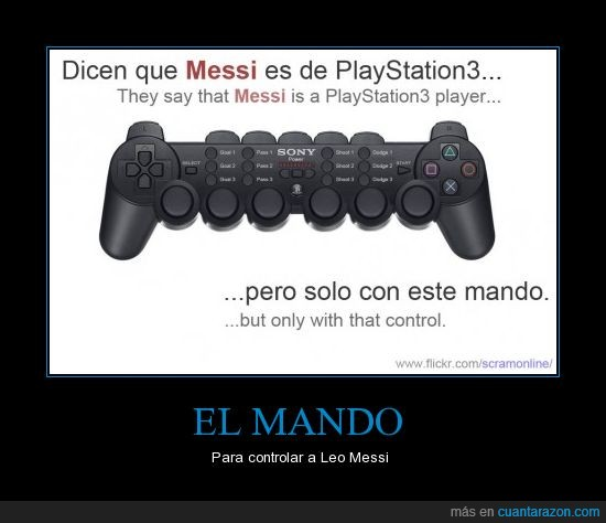 barça,controlar,mando,messi,playstation 3