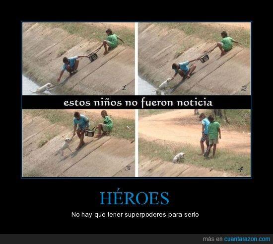 Heroes,Niños,noticia