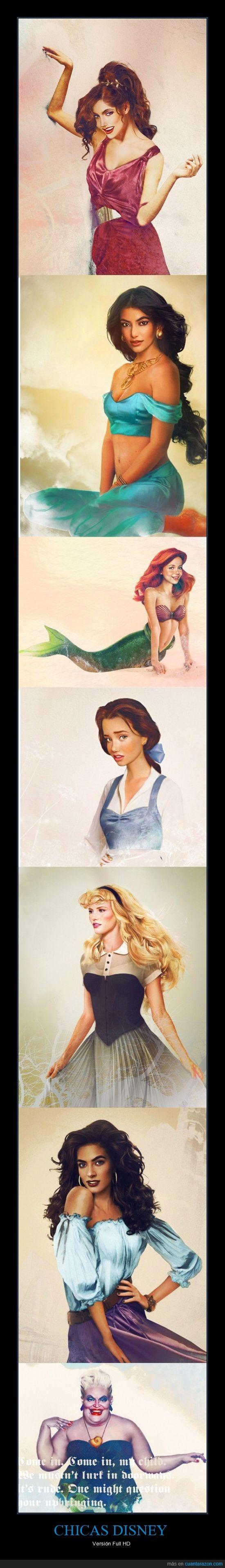 disney,hd,princesas,realista
