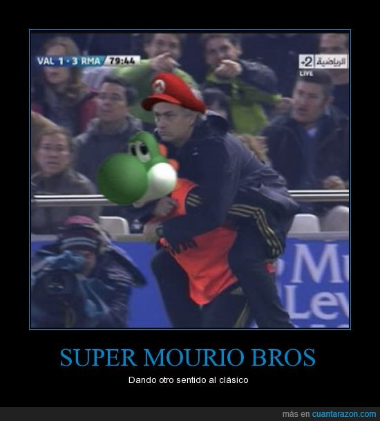 fútbol,juego retro,mario,mou,mourinho,yoshi