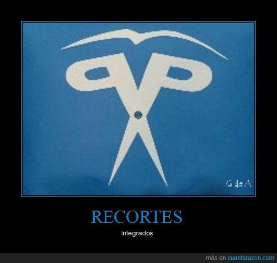 logotipo,pp,recortes,tijera