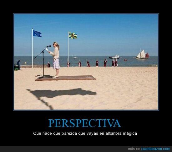 alfombra voladora,bandera,chica,discurso,perspectiva,sombra