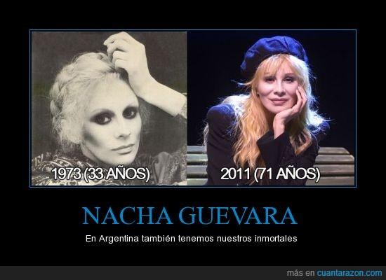 71 años,envejecer,inmortal,Nacha guevara,parece de 30