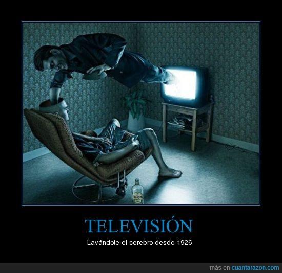 cerebro,lavar,televisión