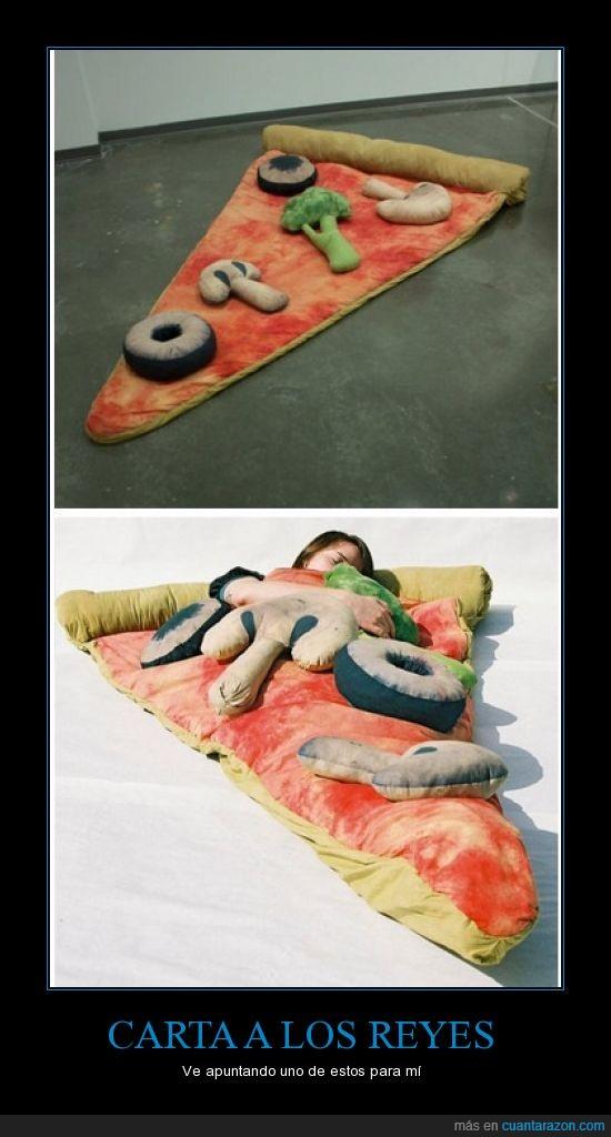 cama,navidad,perfecto,pizza,raro