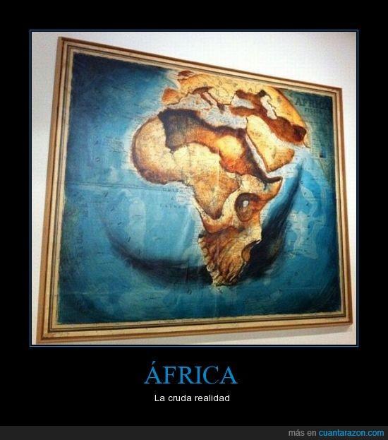 Africa,arte,calavera,mundo