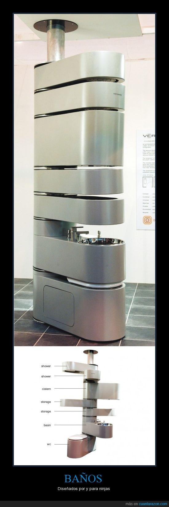baño,fregadero,ninja,wc