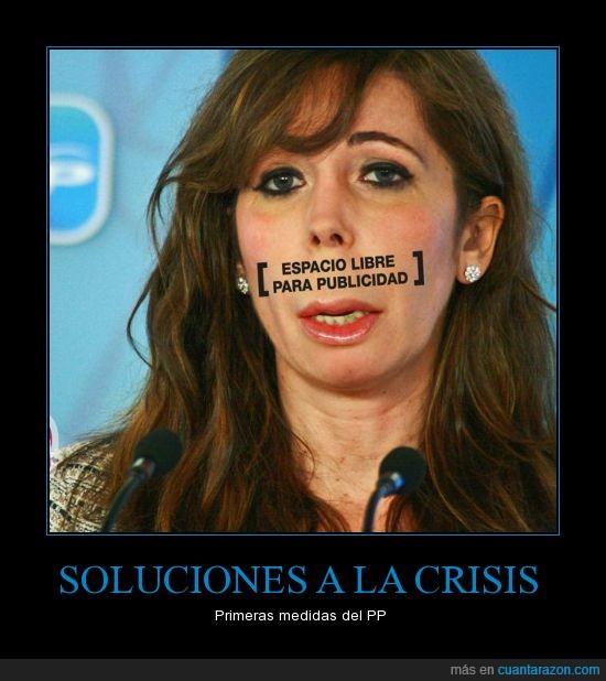 Alicia,Crisis,PP,Publicidad,Soluciones