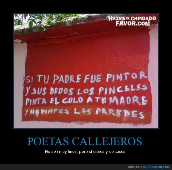 muros,paredes,poetas
