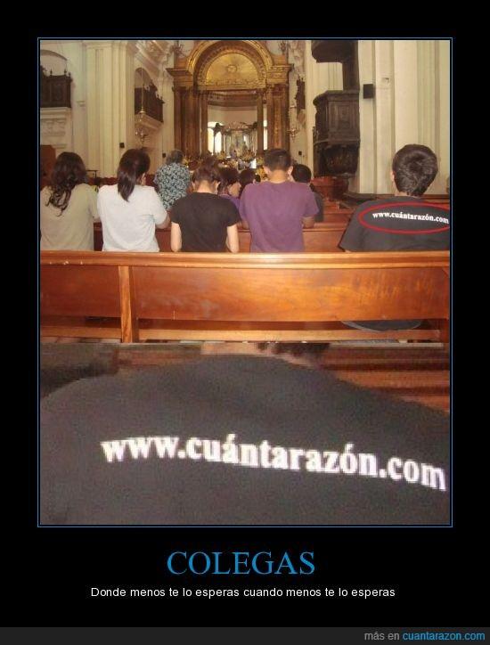 camiseta,cuantarazon,iglesia
