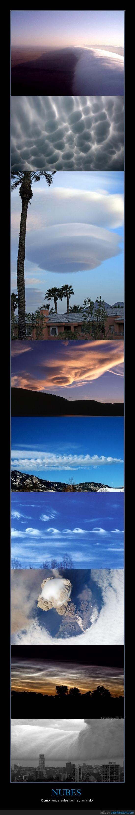 formas,fotos,Nubes,paisaje