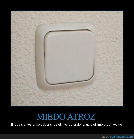 interruptor,luz,timbre,vecino