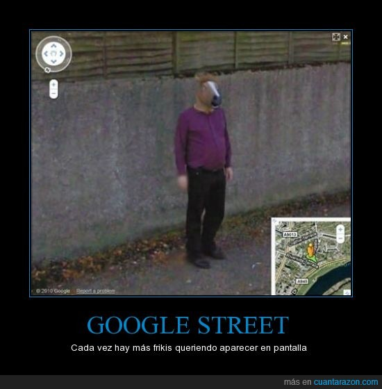 Caballo,Fail,Google,Persona,Street