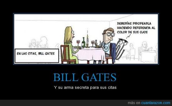 ayuda,bill gates,cita,clip,color,ojos,restaurante