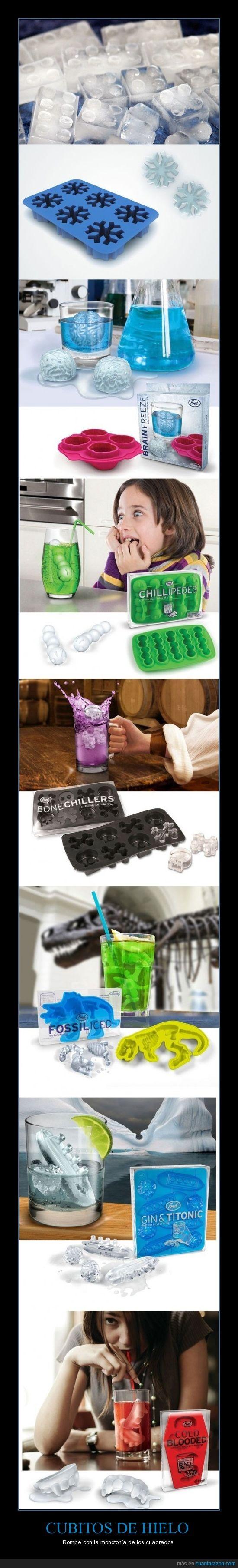 cubitos,hielo,originales
