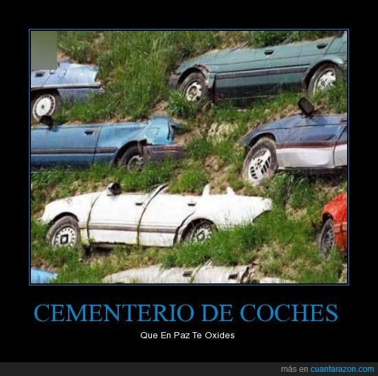 cementerio,coches
