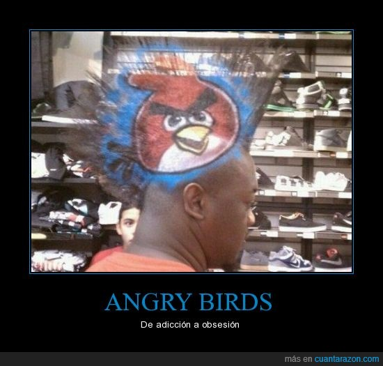 angry birds,peinado