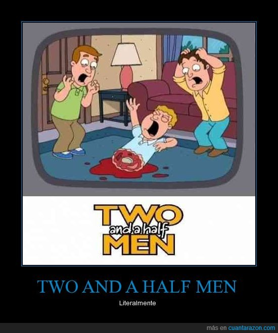family guy,two and a half men