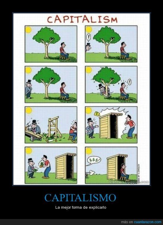 arbol,capitalismo,casa,dinero,materialismo,pobres,ricos,talar