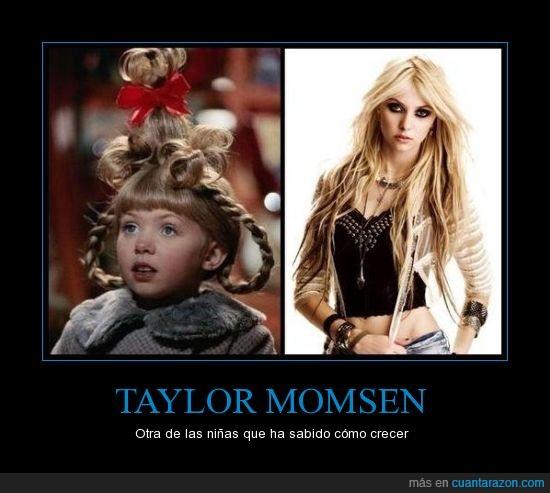 grinch,infancia,Taylor momsen