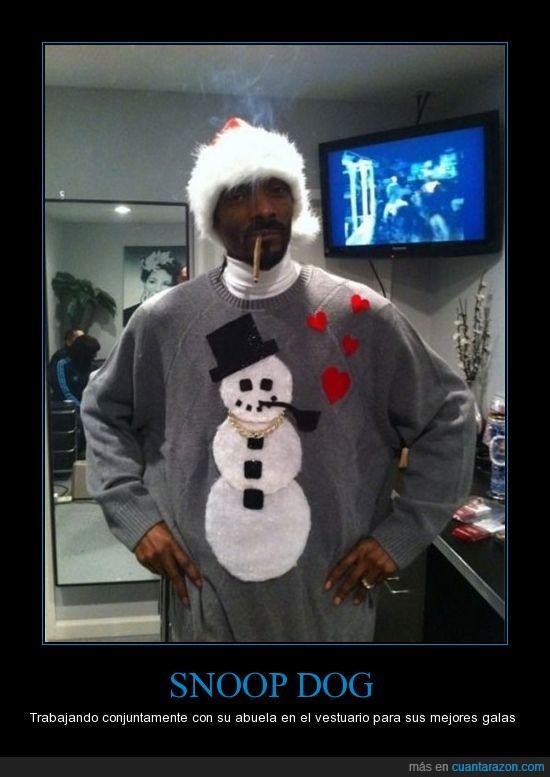 jersey,muñeco de nieve,snoop dog