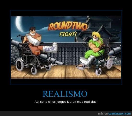 ken,realismo,ryu,street fighters