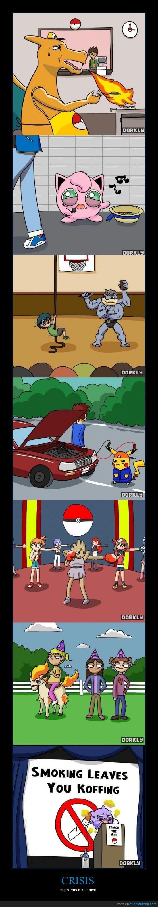 crisis,fracaso,pokemon
