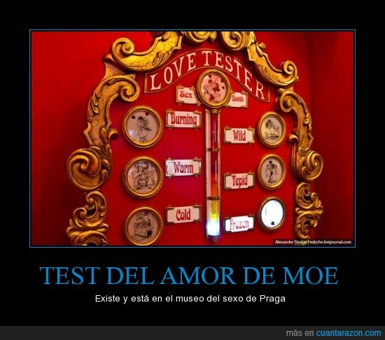 moe,praga,test del amor