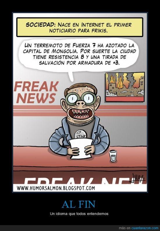 frikis,noticiario,rol,telediario,terremoto