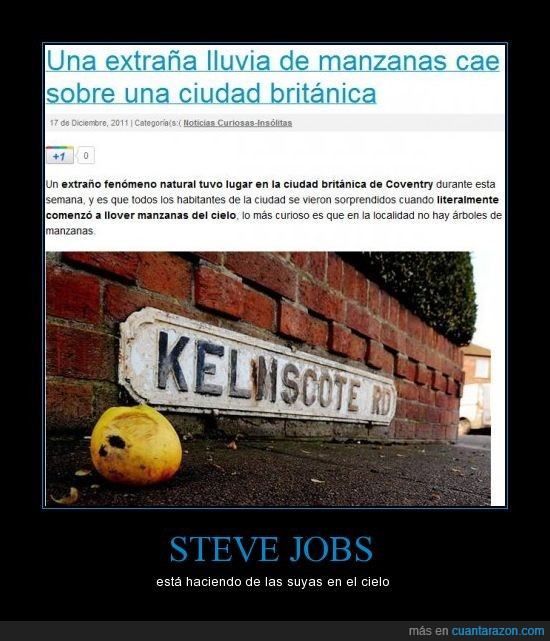 cielo,haciendo,manzanas,steve jobs