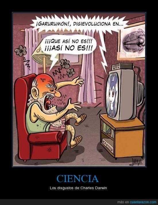 ciencia,darwin,evolución,televisión