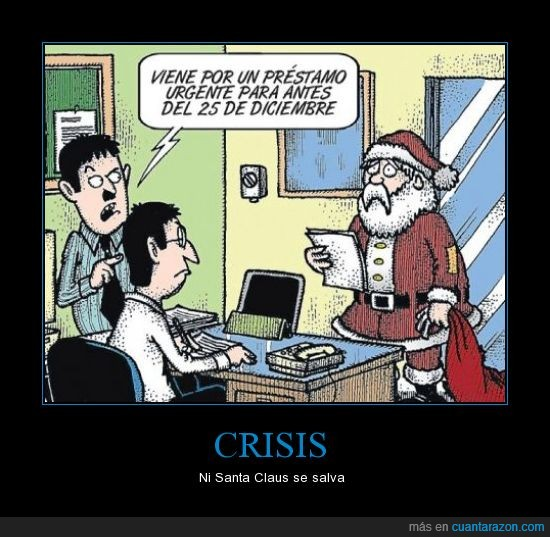 crisis,navidad,papá noel,santa claus