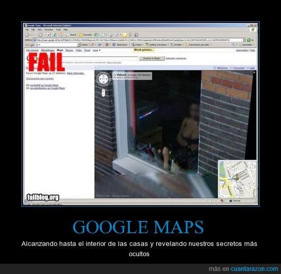 chica,didlo,google maps,ventana