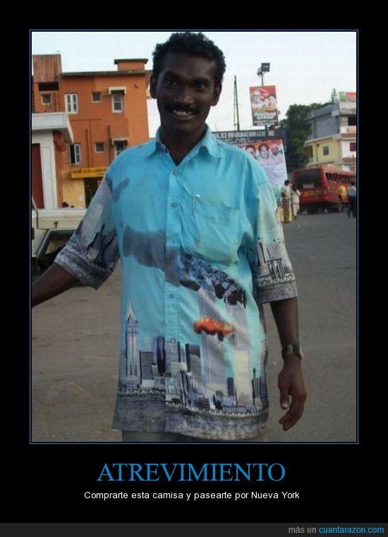 arabe,atentado,avion,camisa,fail,new york,torres gemelas