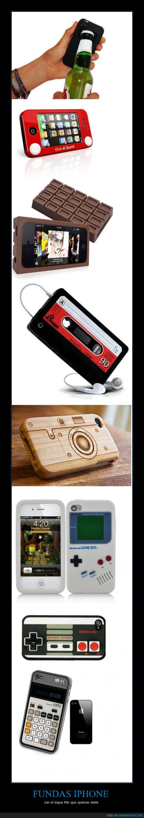 calculadora,camara,chocolate,fundas,iphone,nintendo,rous,sketch