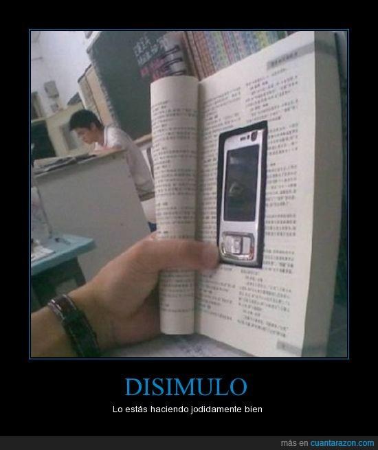 clase,libro,móvil
