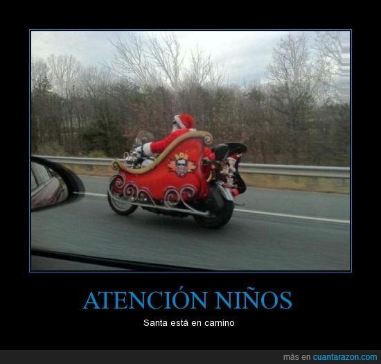 carretera,conducir,moto,santa
