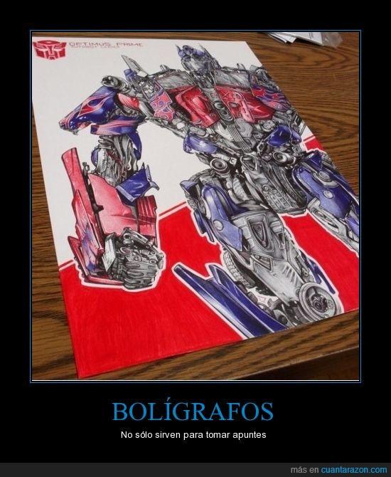 boligrafo,dibujo,transformer