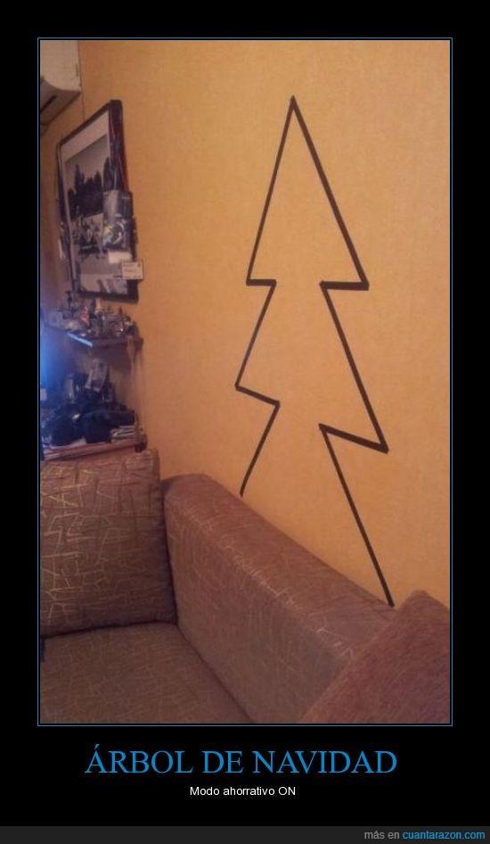 árbol de navidad,pared,pintado