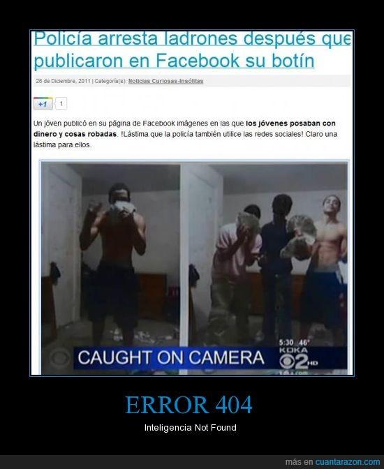 facebook,Fail,foto,Policia,subir,tontaco,Villanos